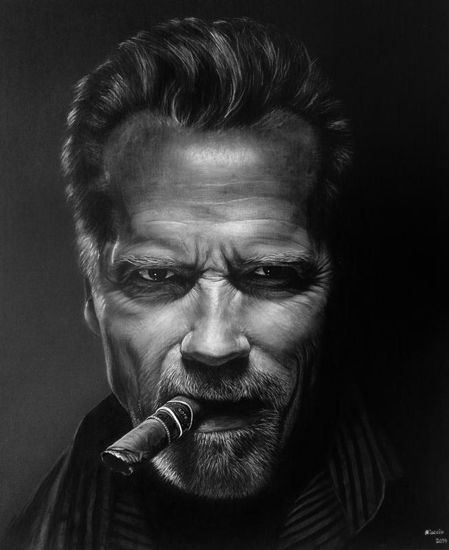 Arnold Schwarzenegger por miualpainter